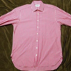 Charles Tyrwhitt Pink Check Shirt